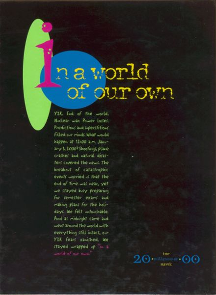 2000 Pleasant Grove High School Yearbook Cover