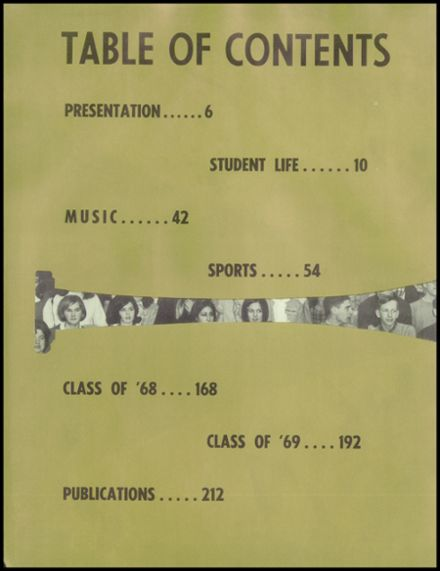 1967 West High School Yearbook Page 8