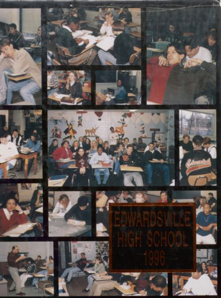 1996 Edwardsville High School Yearbook Cover