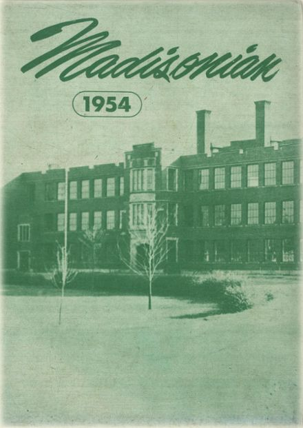1954 Groveport Madison High School Yearbook Page 1