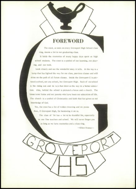 1954 Groveport Madison High School Yearbook Page 6