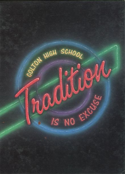 1988 Colton High School Yearbook Cover