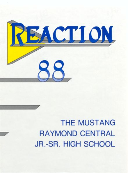 1988 Raymond Central High School Yearbook Cover