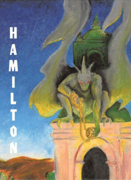 1992 Alexander Hamilton High School Yearbook Cover