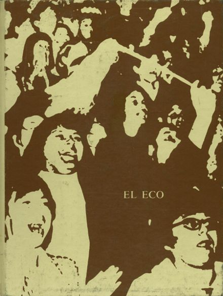 1971 Nathaniel Narbonne High School Yearbook Cover