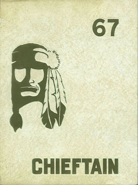 1967 Westwood High School Yearbook Cover
