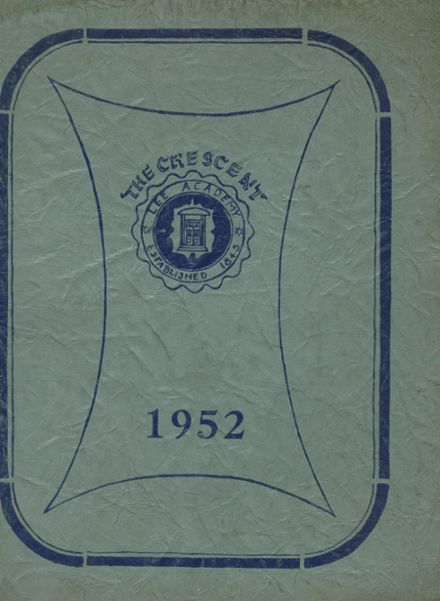 1952 Lee Academy Yearbook Page 1