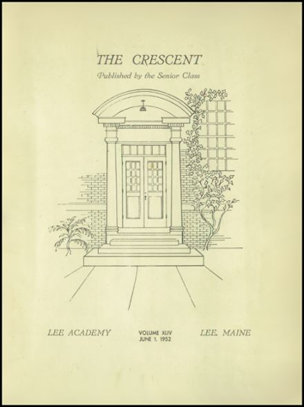 1952 Lee Academy Yearbook Page 3