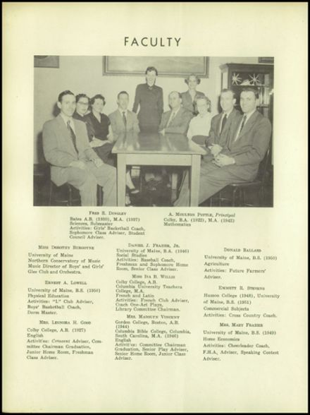 1952 Lee Academy Yearbook Page 8