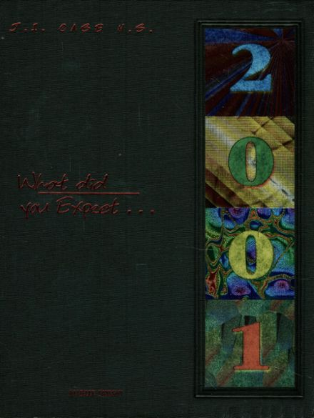 2001 Case High School Yearbook Cover