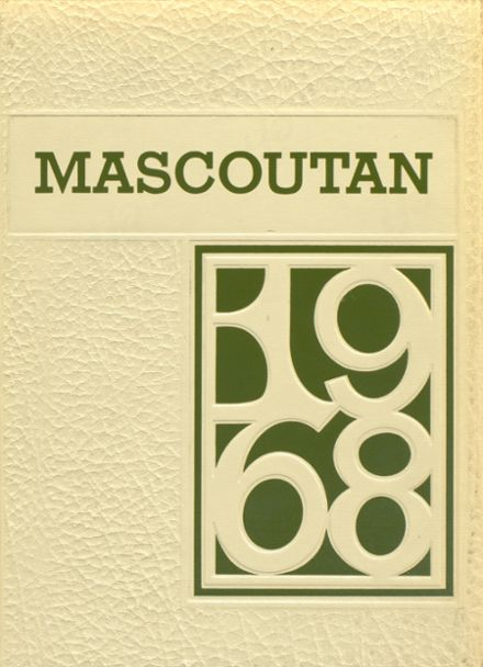 1968 Mascoutah High School Yearbook Cover