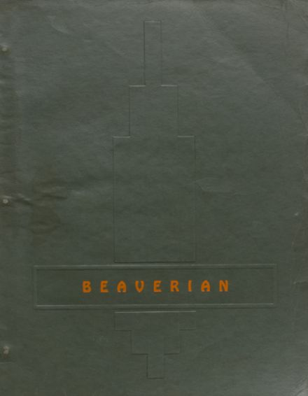 1943 Beaver River Central High School Yearbook Cover