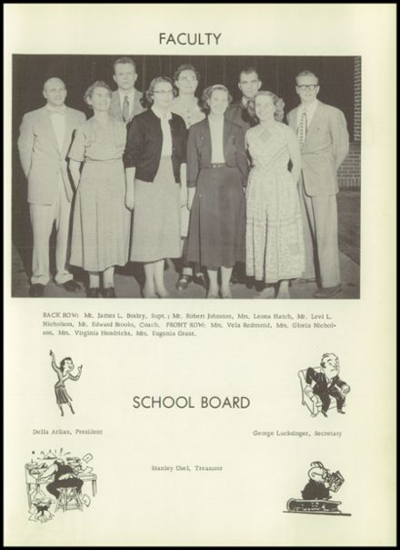 1957 Basalt High School Yearbook Page 7