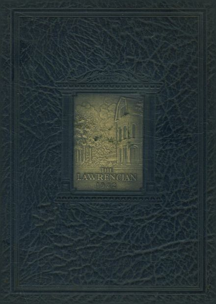 1932 Lawrence Academy Yearbook Cover