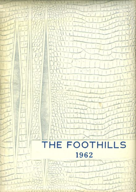 1962 Allegany Central School Yearbook Cover