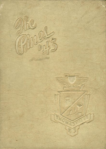 1943 Thomasville High School Yearbook Cover