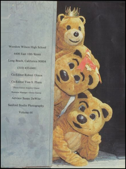 1996 Woodrow Wilson High School Yearbook Page 5