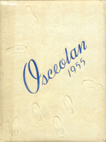 1955 Osceola High School Yearbook Cover