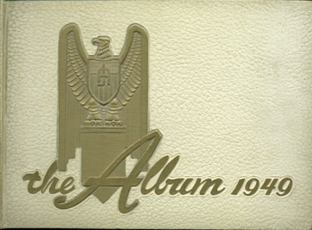 1949 Adams High School Yearbook Cover