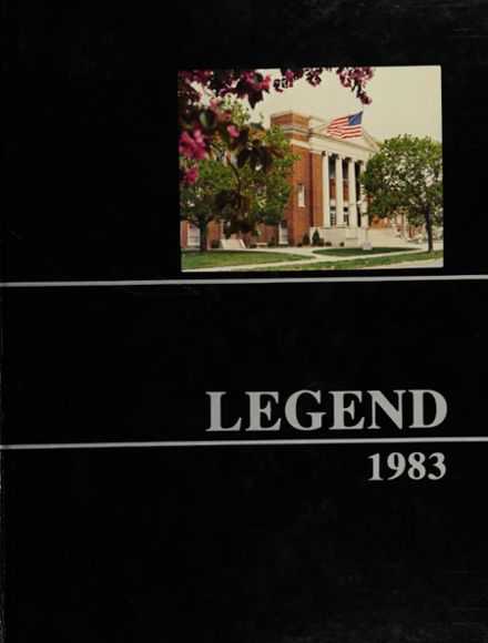 1983 North Side High School Yearbook Cover