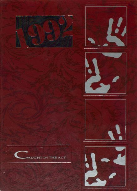 1992 Lovelady High School Yearbook Cover