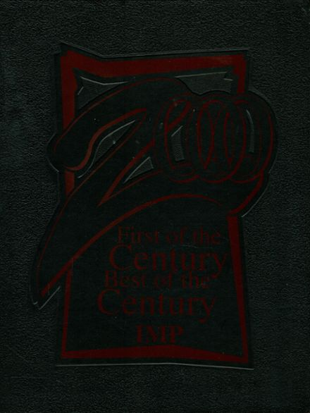 2000 Center Moriches High School Yearbook Cover