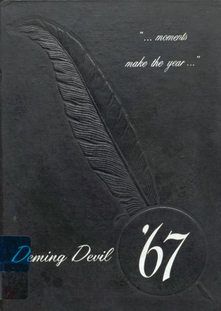 1967 Deming High School Yearbook Cover