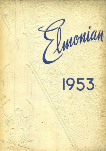 1953 St. Elmo High School Yearbook Cover