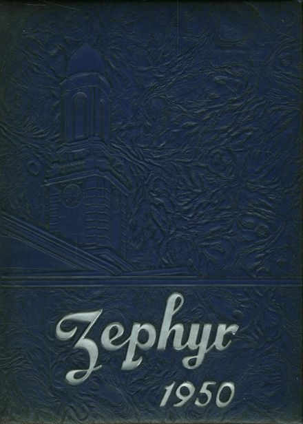 1950 West End High School Yearbook Cover