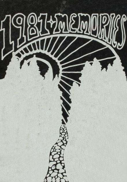 1981 Mexico High School Yearbook Cover