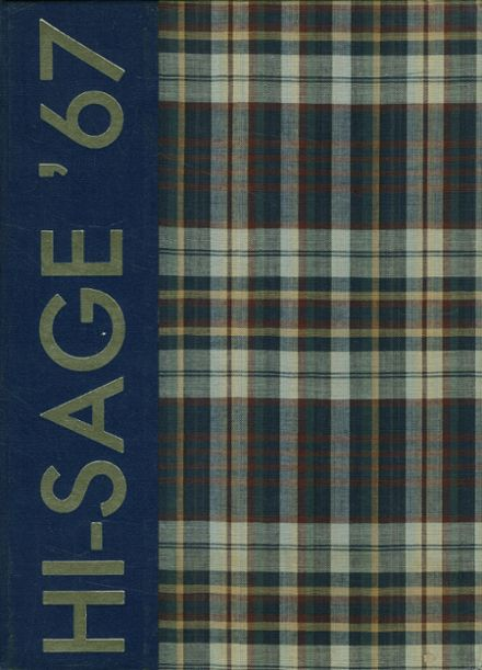 1967 Madras High School Yearbook Cover