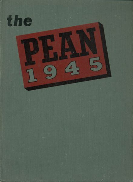 1945 Phillips Exeter Academy Yearbook Cover