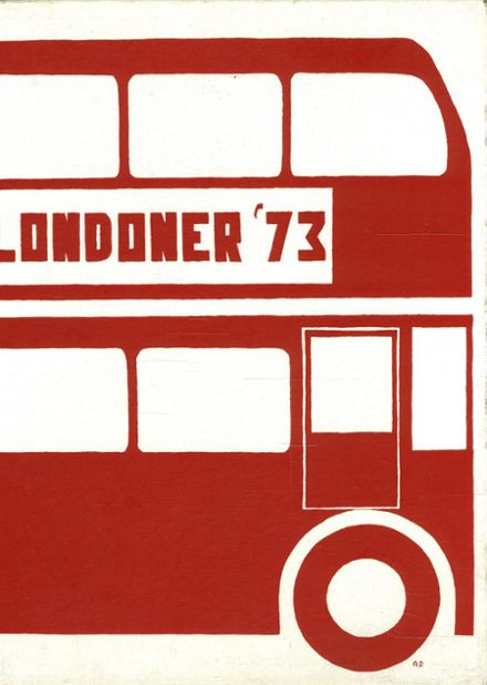1973 London Central High School Yearbook Cover