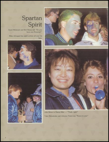 1988 Doherty High School Yearbook Page 4