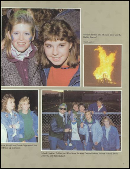 1988 Doherty High School Yearbook Page 5