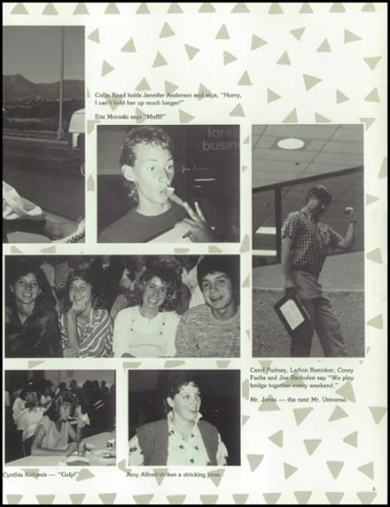 1988 Doherty High School Yearbook Page 7