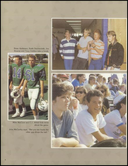 1988 Doherty High School Yearbook Page 8