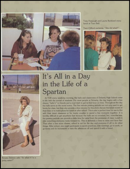 1988 Doherty High School Yearbook Page 9