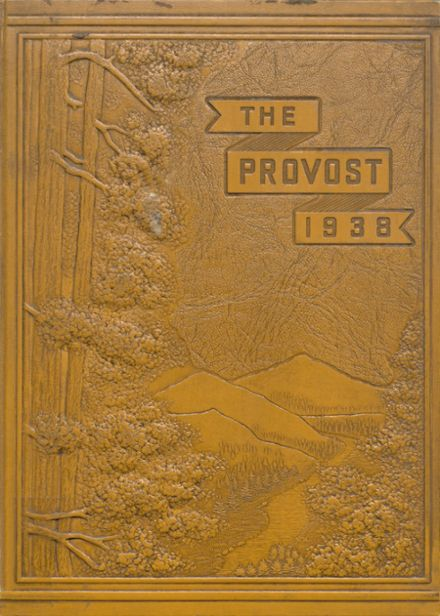 1938 Provo High School Yearbook Cover