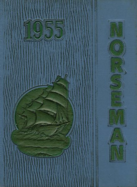 1955 Omaha North High School Yearbook Cover