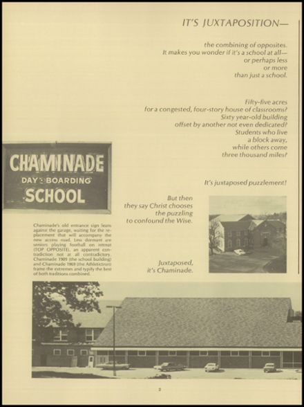 1969 Chaminade College Preparatory School Yearbook Page 6