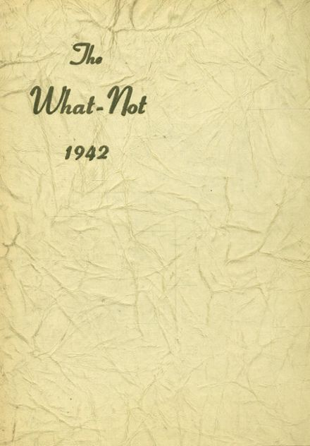 1942 Girls Latin High School Yearbook Cover