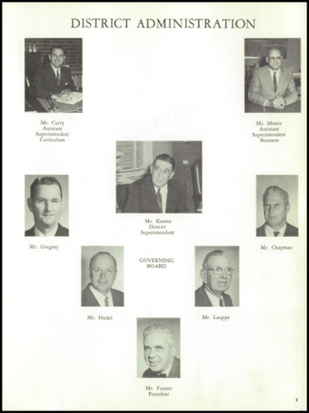 1962 Norte Del Rio High School Yearbook Page 9
