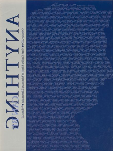 2000 North Carolina School of Science & Math Yearbook Cover