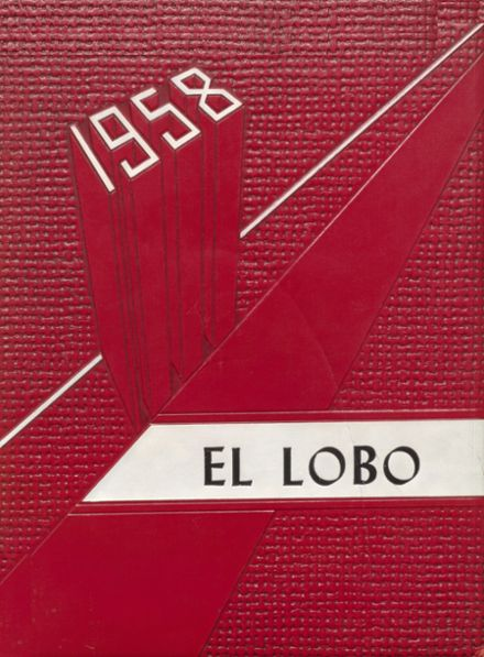1958 Yarbrough High School Yearbook Cover