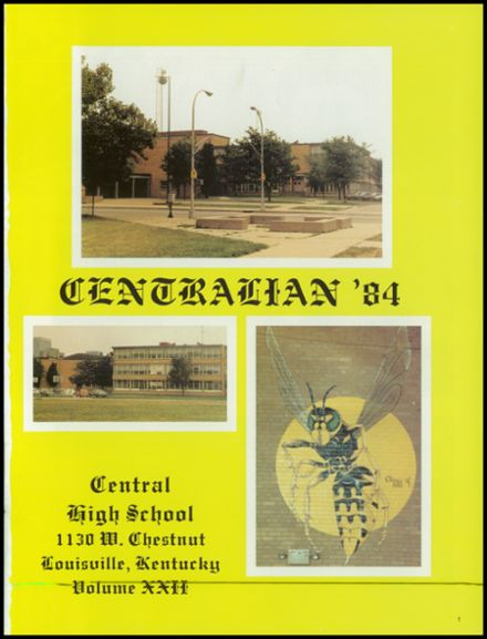 1984 Central High School Yearbook Page 5