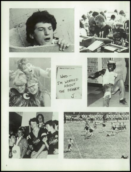 1984 Central High School Yearbook Page 6