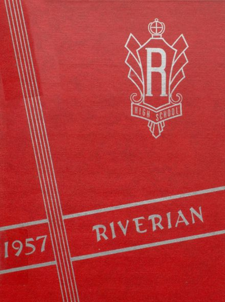 1957 Riverdale High School Yearbook Cover