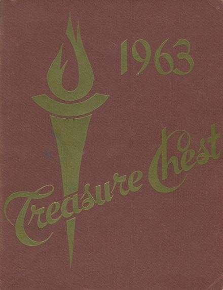 1963 Mergenthaler Vocational Technical High School 410 Yearbook Cover