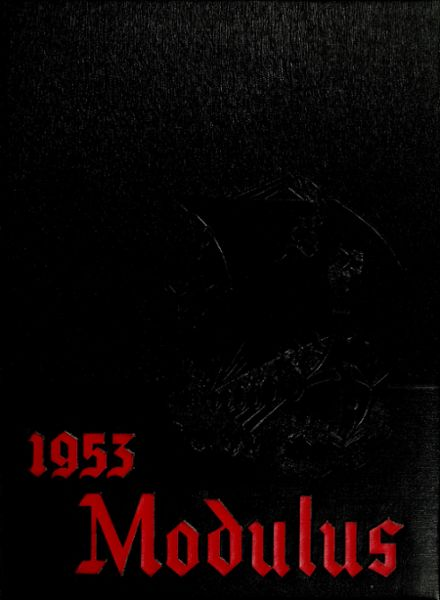 1953 Huntington High School Yearbook Cover